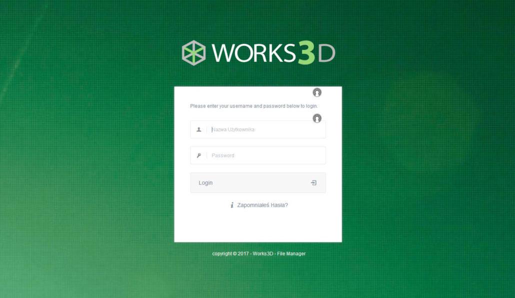 Login FTP Works3D